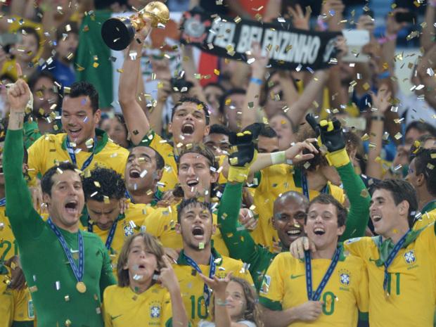 Brazil Rout Spain 3-0 in Final