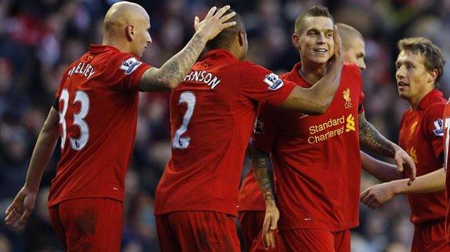 Liverpool, Barcelona, Agger,