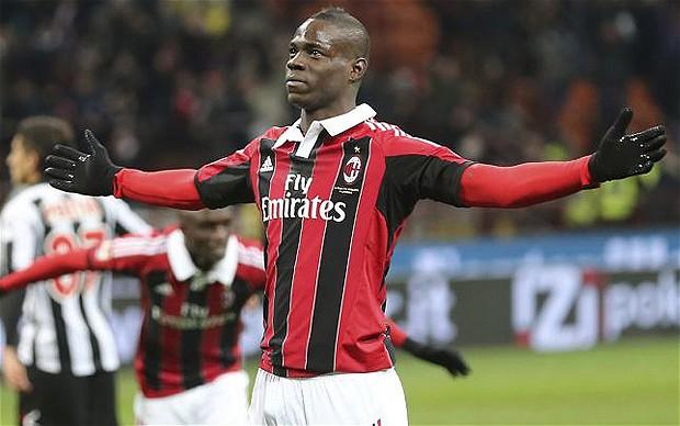 Balotelli, Champions League, AC Milan,