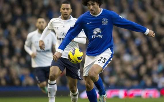 Fellaini, Everton, MAN United, Moyes, Martinez,