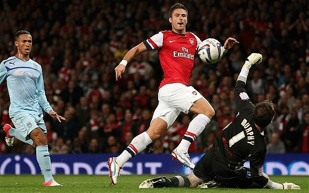 Giroud, Arsenal,