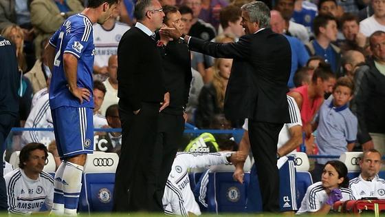 Lambert, Mourinho, Aston Villa, Chelsea,