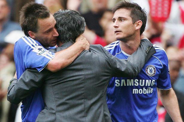 Mourinho, Lampard, Chelsea,
