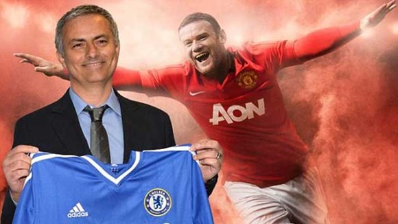 Chelsea, Rooney, Mourinho, MAN United,