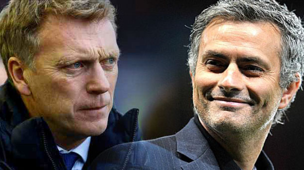 Moyes, Mourinho, MAN United, Chelsea,