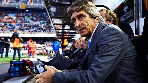 Pellegrini, MAN City, Premier League,