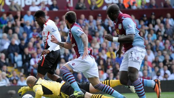 Liverpool, Aston Villa, Sturridge. Rodgers,