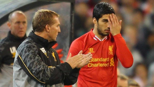 Suarez, Rodgers, Liverpool,
