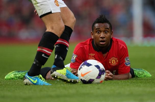 MAN United, Anderson, Evra, Ferdinand,