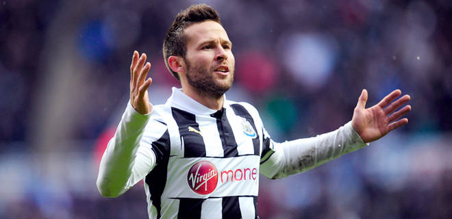 Cabaye, Arsenal, Newcastle,
