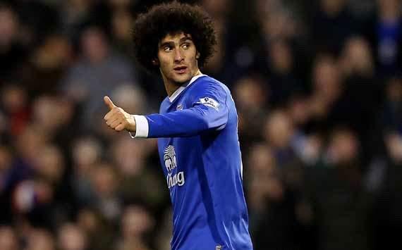 Fellaini, Everton, MAN United, Moyes,