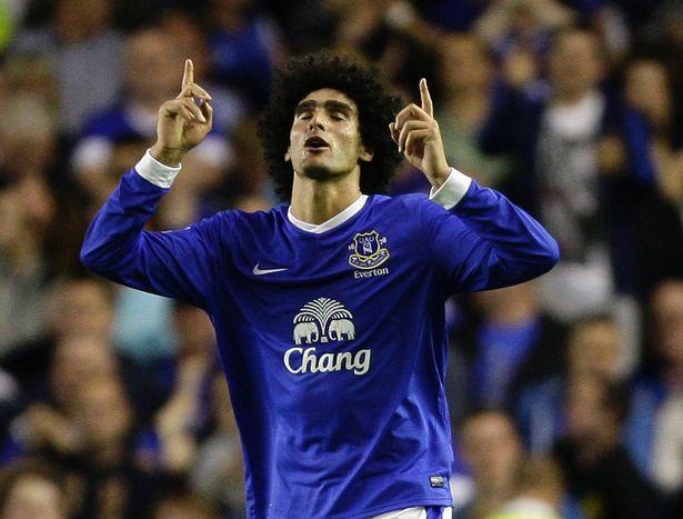 MAN United, Everton, Fellaini, Moyes,