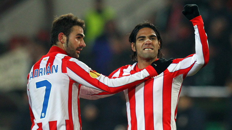 Lopez, Falcao, AS Monaco, Atletico Madrid,
