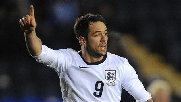 England striker, U-21