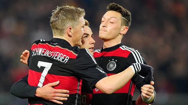 Germany, Ozil