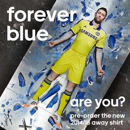 online store 63b51 43c4a Chelsea reveals new away kit for 2014/2015 - NewSigning.co.uk
