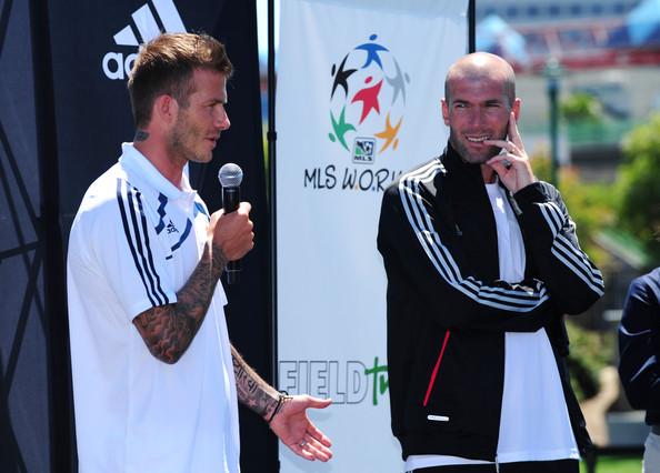 New Adidas advert sees Zidane smash Beckham's trophy cabinet