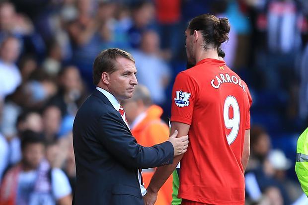 Andy Carroll calls Liverpool boss a liar