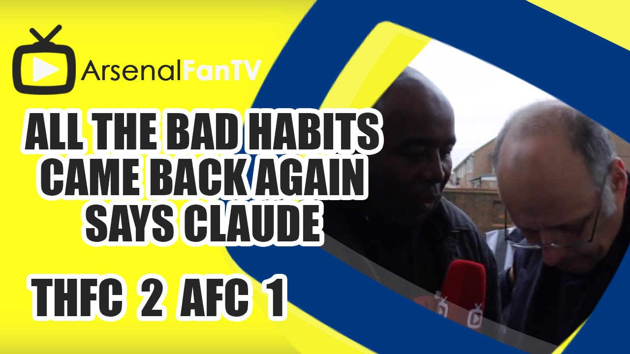 Arsenal were back to their old habits (video)