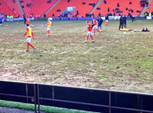 This has to be the worst pitch in football