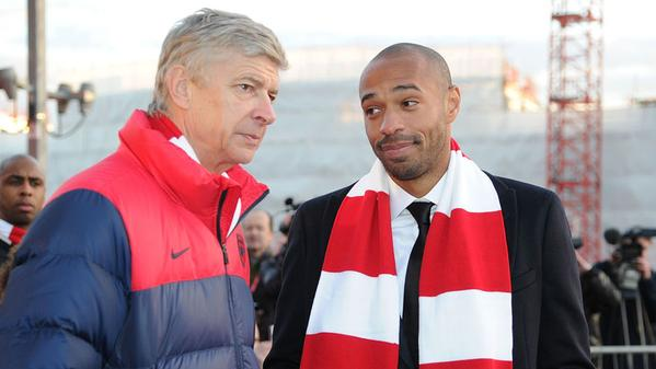 Kroenke ready to fire Wenger and make Thierry Henry manager