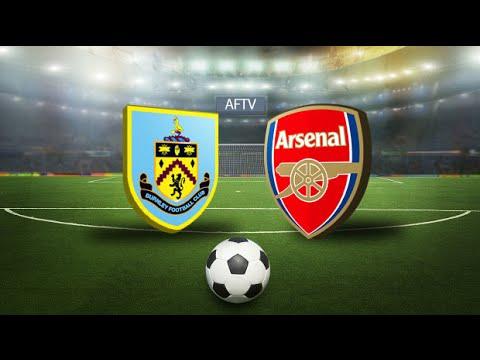 Arsenal v Burnley Line-Up