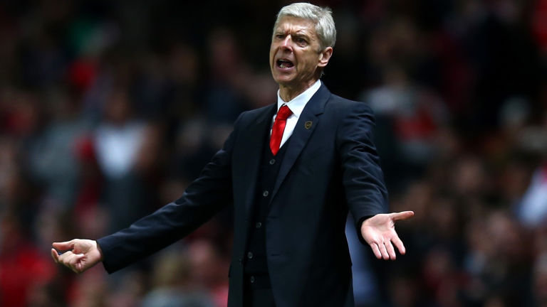 Arsene Wenger says his side is the REAL-DEAL and that they will prove it against Manchester United