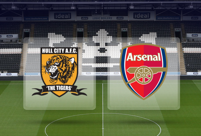 Arsenal LINE-UP for Hull City