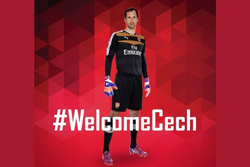 Petr Cech is delighted to have signed for Arsenal