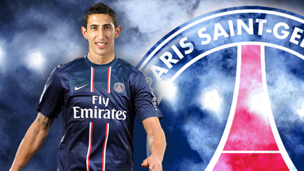 DONE DEAL: Angel Di Maria signs for Paris Saint-Germain