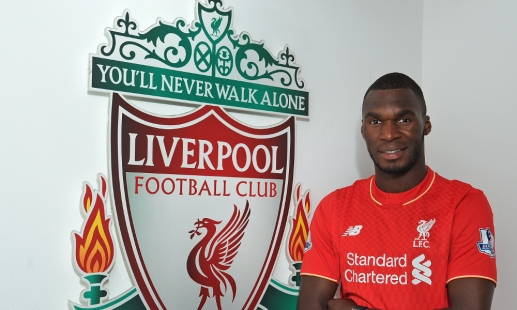 DONE DEAL: Liverpool complete the signing of Christian Benteke for £32.5m