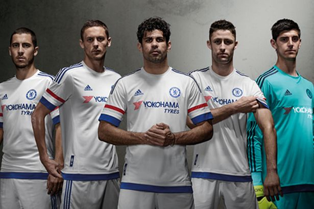 Chelsea has revealed their new away kit for the 2015/16 season and it looks great!