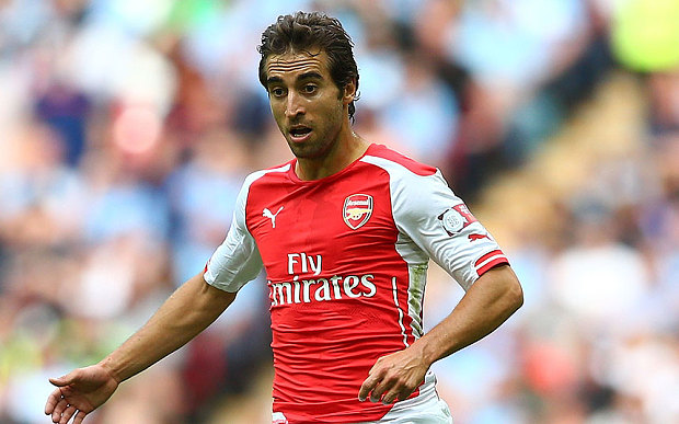 Arsenal Midfielder vows to get his place back in Wenger's starting XI