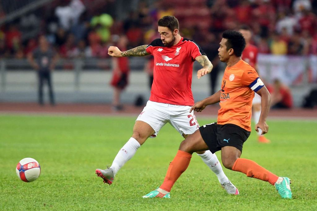 Danny Ings Hat-Trick leads Liverpool to a 7-0 win in Malaysia