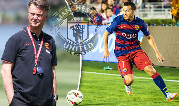 Manchester United closing in on Pedro with a £22m deal to be signed next week