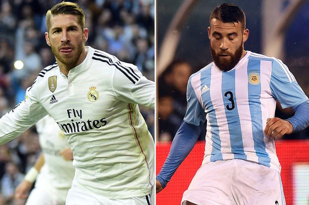 Manchester City to steal Ramos and Otamendi from Manchester United