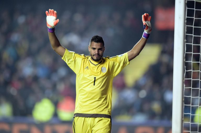 DONE DEAL: Sergio Romero signs for Manchester United
