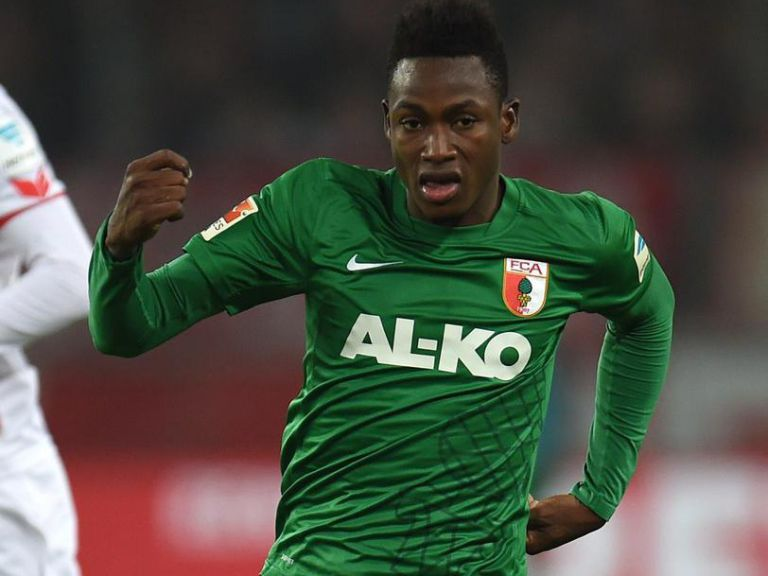 Chelsea beat Arsenal to the signing of Augsburg SPEEDSTER