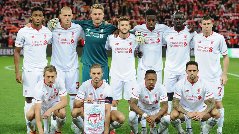 Predicted Liverpool Starting XI for Stoke on August 9th