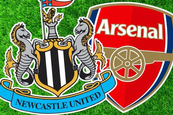 LINE-UP: Arsenal team to play Newcastle United