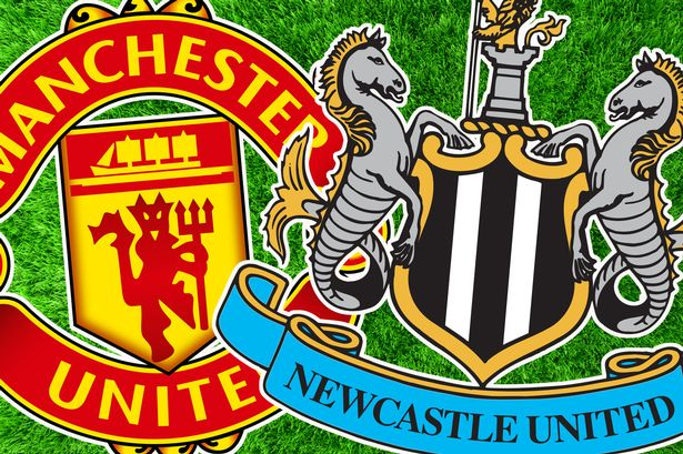 LINE-UP Manchester United team to play Newcastle