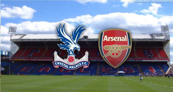 LINE-UP: Arsenal team to play Crystal Palace