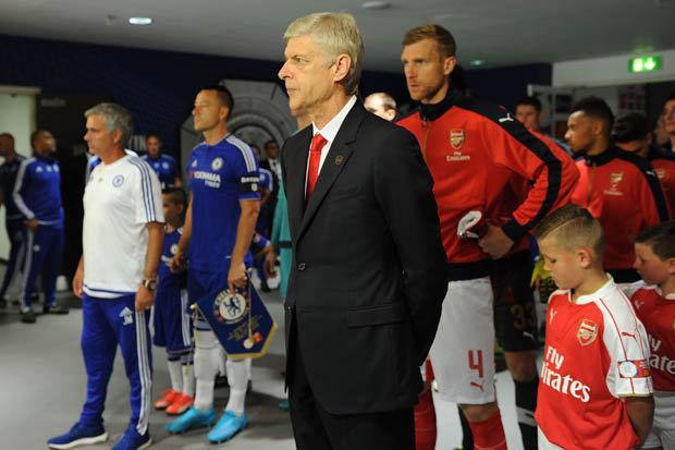 Wenger taunts Mourinho following Community Shield win