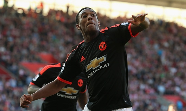 Schneiderlin is amazed Morgan by Anthony Martial's talent