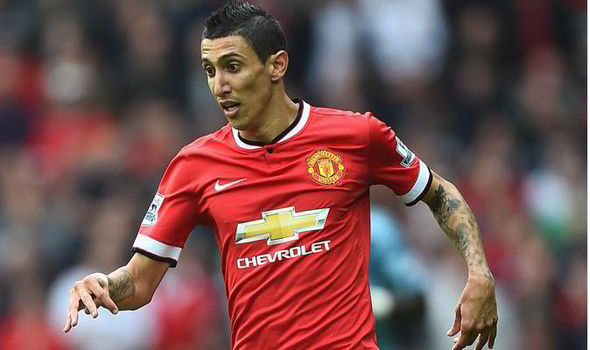 Angel Di Maria hits out at Manchester United boss Louis van Gaal