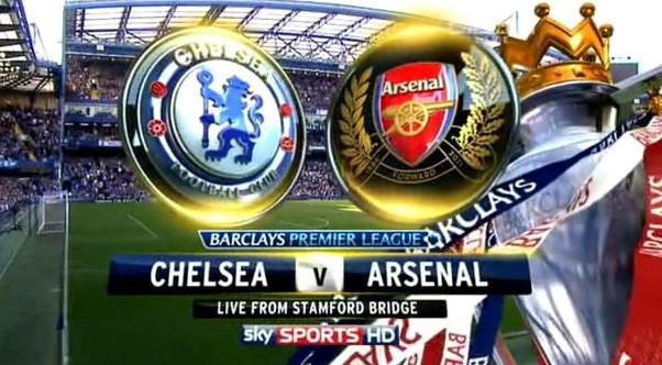 LINE-UP Chelsea vs Arsenal