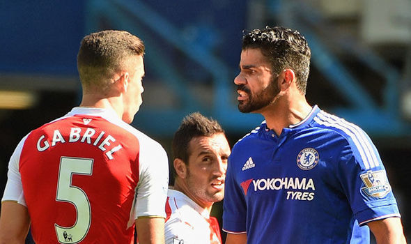 Arsenal HARD-MAN says he would love to play against Diego Costa