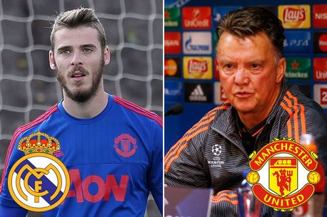 Manchester United Goalkeeper to Real Madrid will NOT HAPPEN as Spanish transfer window closes