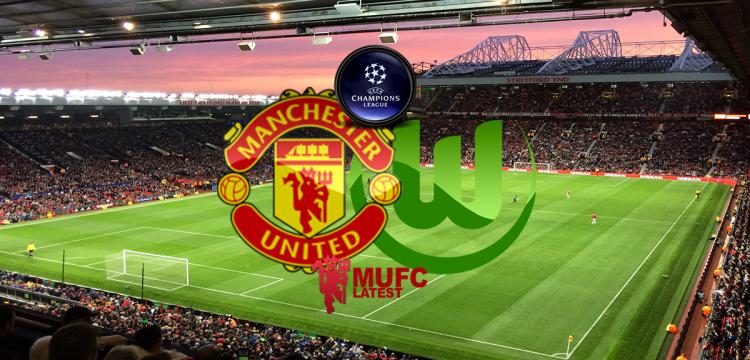 LINE-UP: Manchester United team to play Wolfsburg