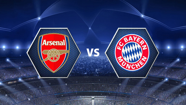 LINE-UP: Arsenal team to play Bayern Munich